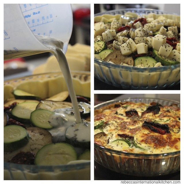 Making an Eggplant, Zucchini, & Tomato Tarta - An Easy, Vegetarian Recipe from Argentina