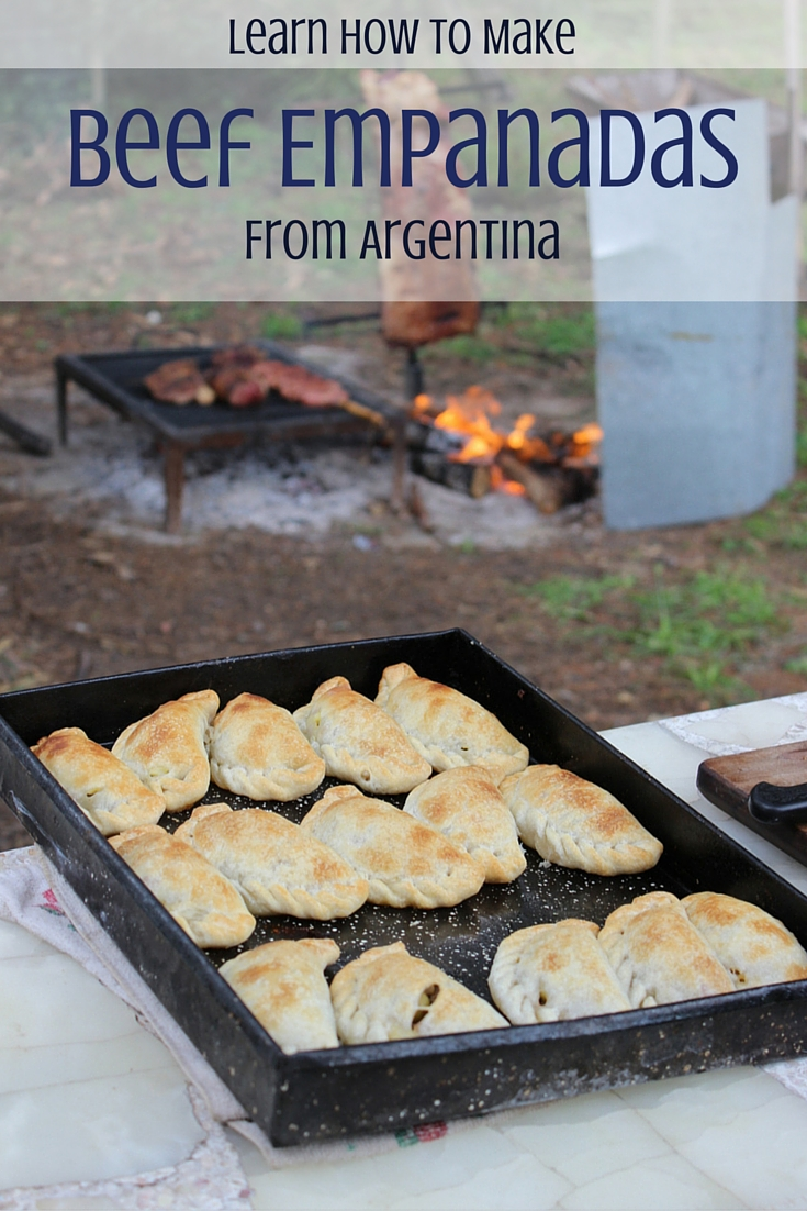 How to Make Beef Empanadas. Saving recipe for later!