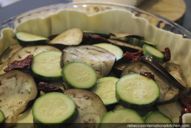 Making an Eggplant, Zucchini, & Tomato Tarta - An Easy, Vegetarian Recipe from Argentina