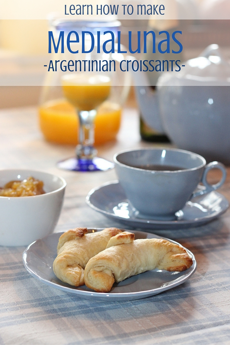 How to Make Medialunas - Argentinian Croissants. Saving recipe for later!
