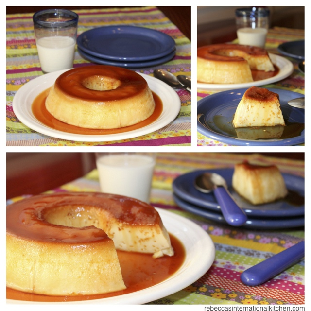 Rebeccas international kitchen easy and delicious homemade flan easy and delicious recipe for homemade flan from argentina forumfinder Choice Image