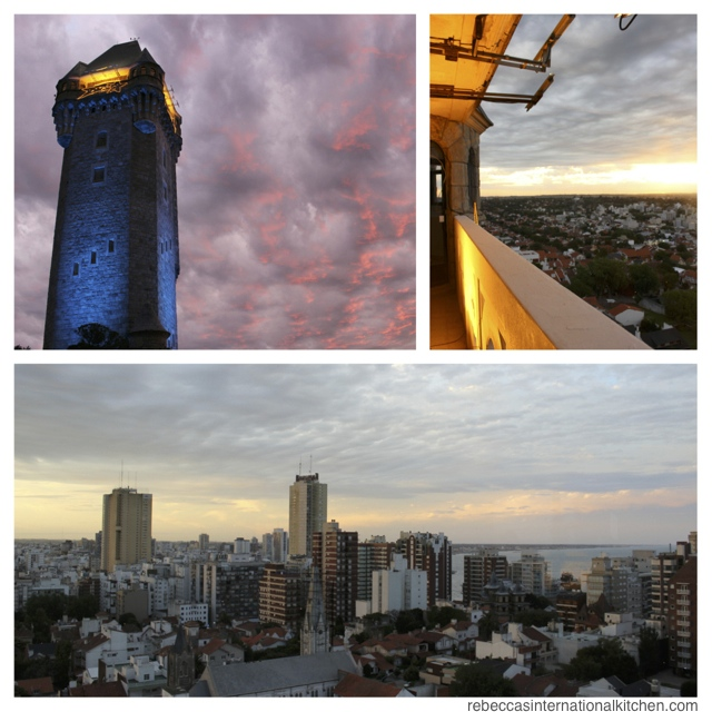 Climb the water tower to watch the sunset in Mar del Plata, Argentina