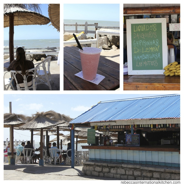 Have a smoothie by the sea in Mar del Plata, Argentina