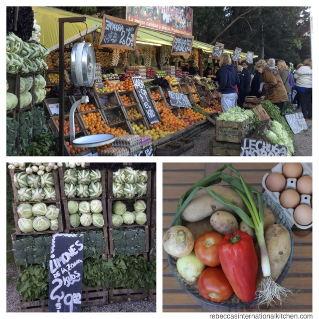 Go to a Roadside Produce Market in Mar del Plata, Argentina