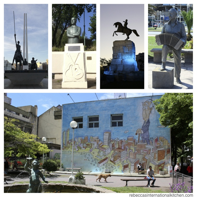 Walk around the city at random to find the best sculptures and wall art in Mar del Plata, Argentina