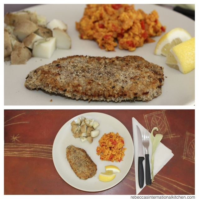 How to make Beef Milanesa and Humita - two easy recipes from Argentina