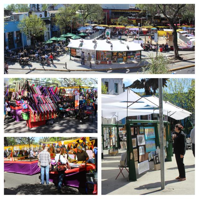 Exploring Buenos Aires: One Weekend, So Many Markets - Feria Plaza Serrano (Plaza Serrano Fair)