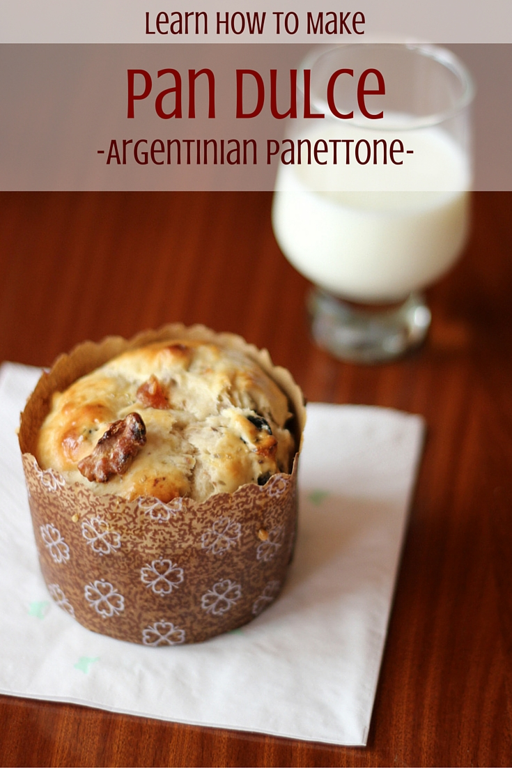 Recipe for Pan Dulce - Argentine Panettone