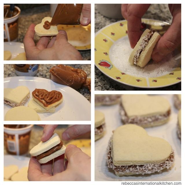 how to make alfajores cookies