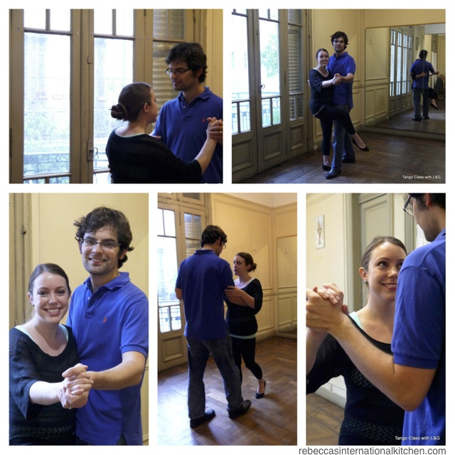 For the Love of Tango in Buenos Aires, Argentina - Tango Classes with Lucia & Jerry