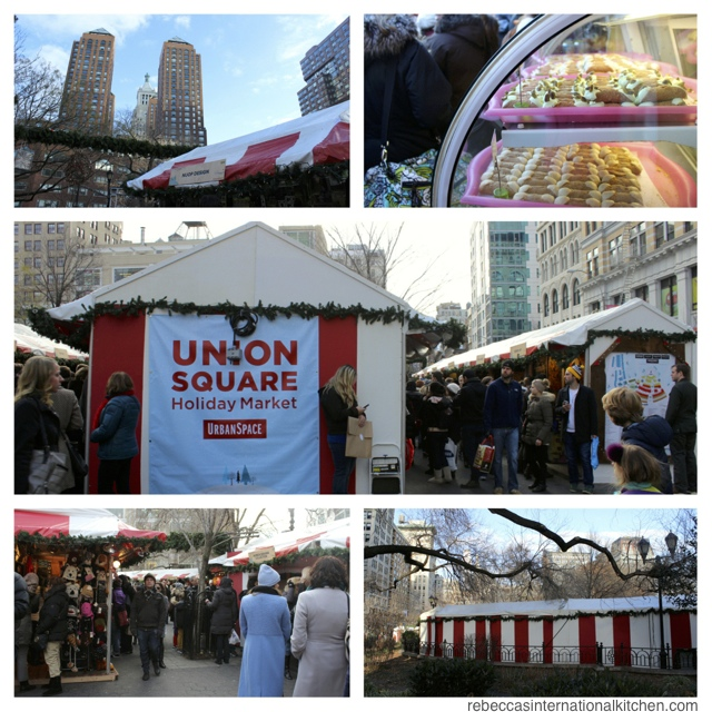 New York City Guide: Christmas Favorites - Union Square Holiday Market