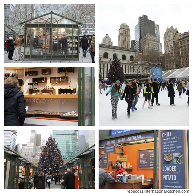 New York City Guide: Christmas Favorites - Winter Village at Bryant Park