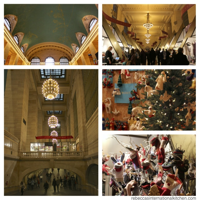 New York City Guide: Christmas Favorites - Grand Central Holiday Fair