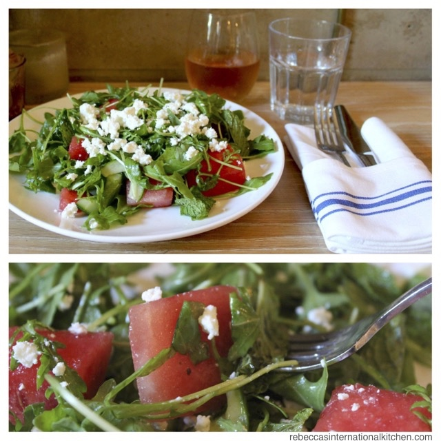 Watermelon Salad - Inspired by Blue Stone Lane in New York City